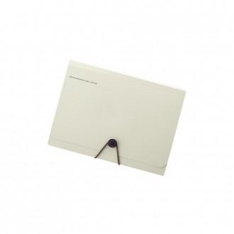 Folder na dokumenty Smart Fit A5 13 kieszeni beżowy
