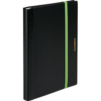 Portfolio Compack A4 10 koszulek czarne