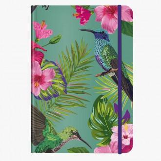 Cedon notes A5 Flower Bird