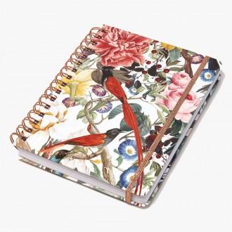 Notes na spirali Cedon Red Birdies