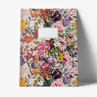 Zeszyt A4 w kropki Cedon Flower Greetings