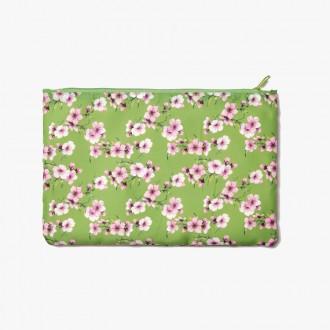 Saszetka Easy Zipperbag S Cedon różowe kwiaty