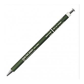 Długopis Days w kolorze oliwkowym