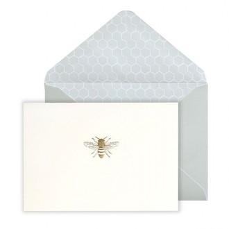 Zestaw kartek z kopertą z motywem pszczoły
