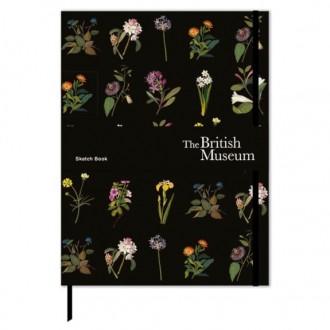 Szkicownik z motywem botanicznym format B5