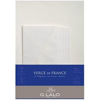 Papeteria G. Lalo Verge de France w kremowa