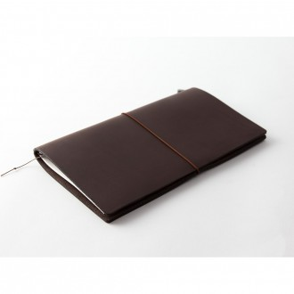 Notatnik Traveler's Notebook ciemnobrązowy