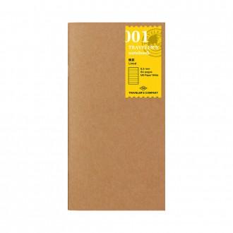 Wkład do Traveler's Notebook 001 linia