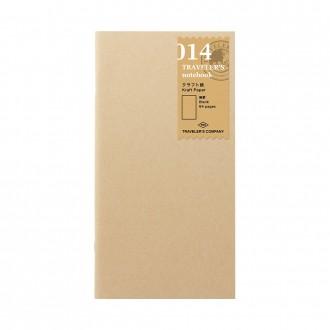 Wkład do Traveler's Notebook 014 papier kraftowy