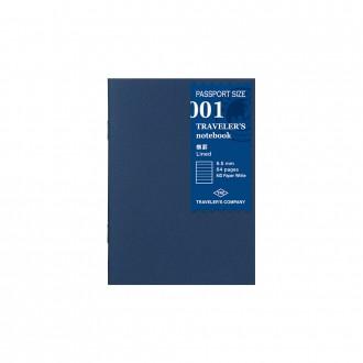 Wkład do Traveler's Notebook Pasport 001 linia