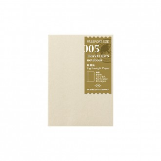 Wkład do Traveler's Notebook Passport 005 papier lekki