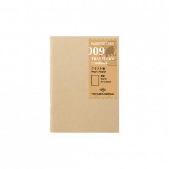 Wkład do Traveler's Notebook Passport 009 papier kraftowy