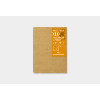 Wkład do Traveler's Notebook Passport 010 folder