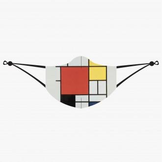 LOQI maseczka ochronna Mondrian