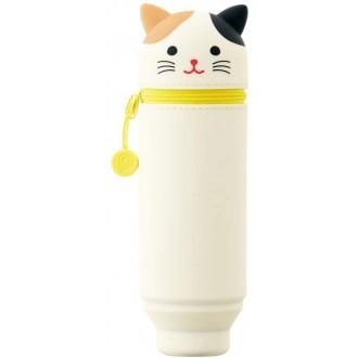 Piórnik stojący PuniLabo biały kot