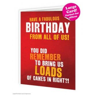 Kartka urodzinowa A4
