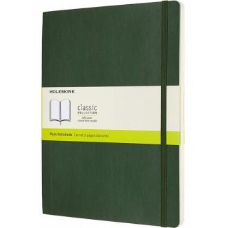 Notatnik Moleskine XL w miękkiej oprawie gładki zielony