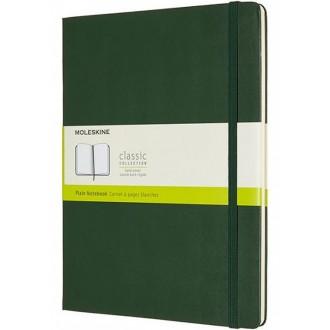 Notatnik Moleskine XL w twardej oprawie gładki zielony