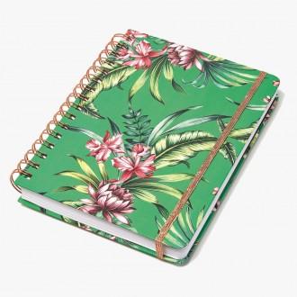 Notes na spirali Cedon Tropical Green