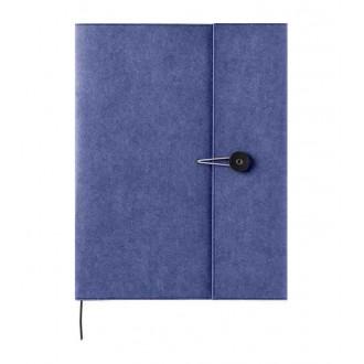 Okładka na notes Kraft A4 niebieska