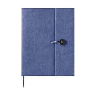 Okładka na notes Kraft B5 niebieska