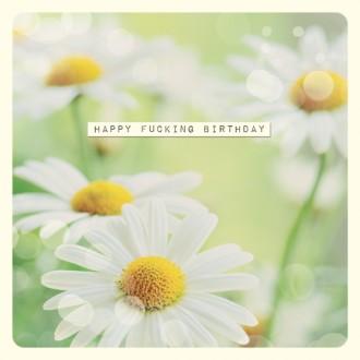 Kartka Happy F*cking Birthday
