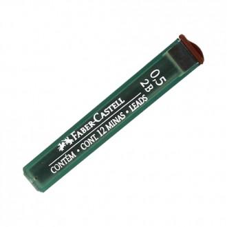 Faber Castell grafity do ołówka 0,5 2B Super Polymer