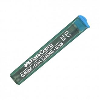 Faber Castell grafity do ołówka 0,7 2B Super Polymer