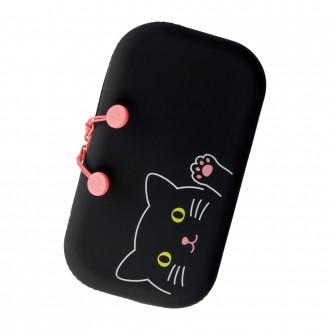 Piórnik duży PuniLabo czarny kot