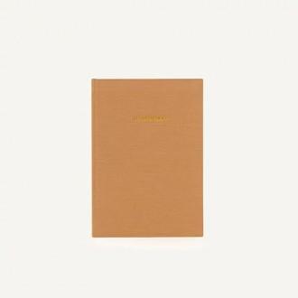 Monk & Anna notes w lnianej okładce Cashew