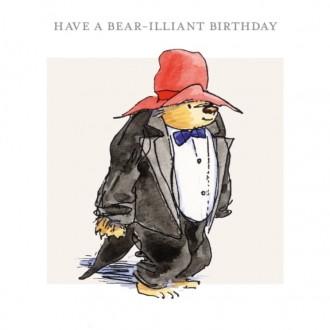 Kartka urodzinowa z misiem Paddingtonem