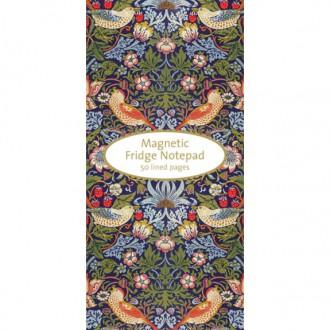 Notes magnetyczny lista zakupów/zadań William Morris
