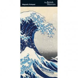 Notes magnetyczny lista zakupów/zadań Hokusai
