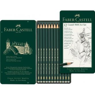 Faber Castell zestaw 12 ołówków w pudełku