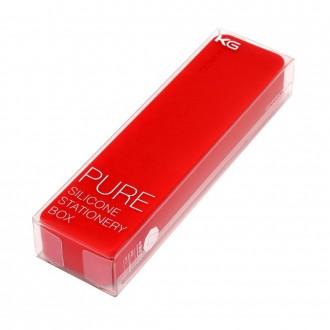 Długopis w pudełku Kaco Pure czerwony