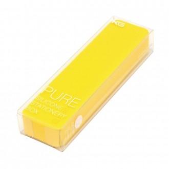 Długopis w pudełku Kaco Pure żółty