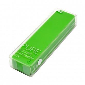 Długopis w pudełku Kaco Pure zielony